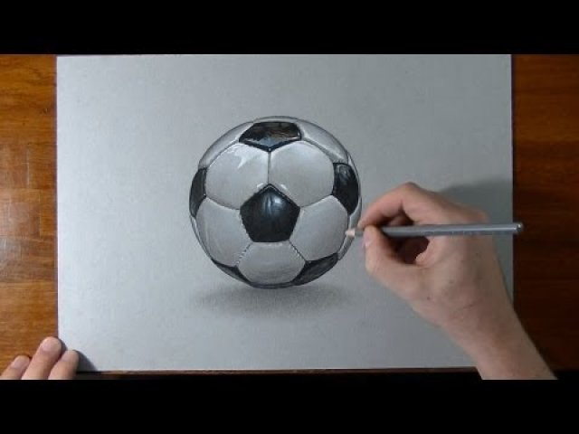 Nike soccer ball drawing
