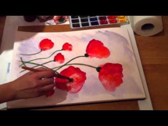 Уроки начинающим как рисовать акварелью